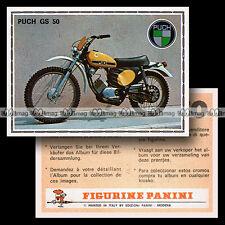 #pnsm75.163 ★ PUCH GS 50 ★ Panini Super Moto 75