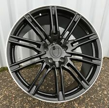 "4x 22 inch alloys wheels for Porsche Panamera Cayenne 9J ET50 5x130 22"" Rims"