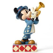Disney Traditions Jim Shore Mickey Mouse Bugle Boy Figurine