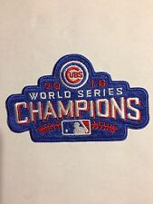 Chicago CUBS World Series Champions Patch- 2016  Iron On/ Collectible