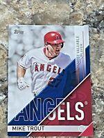 2017 Topps MLB Awards Mike Trout #MVP-1 Los Angeles Angels MLB Baseball Card