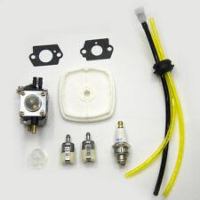Carburetor for Zama C1U-K54A Mantis Tiller 7222 Echo 12520013123 Carb Fuel Line