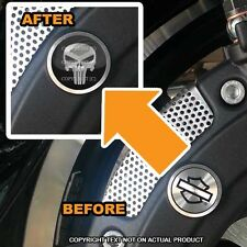 Brembo Front Brake Caliper Insert Set For Harley - PUNISHER SKULL - 047