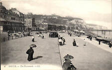 Dover. The Promenade # 6 by LL / Levy. Black & White.