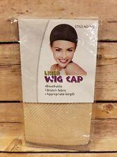 Wig Cap Liner Beige Stretchy