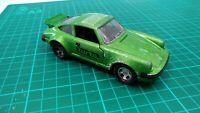 Vintage 1979 Matchbox SuperKings Porche 930 Turbo K-70 Green Sports Car Toy