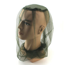 Camping Accessories Head Net Midge Mosquito Hat Face Protector Insect Bug Mesh