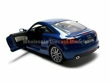 2007 AUDI TT COUPE BLUE 1:18 DIECAST MODEL CAR BY MOTORMAX 73177