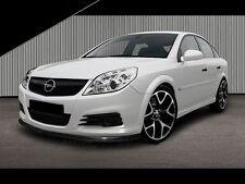 schwarze CUP Spoilerlippe Frontspoiler Spoiler Diffusor Ansatz Opel Vectra C OPC
