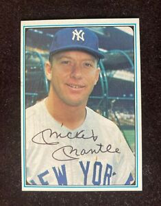 1982 ASA Mickey Mantle Story 72-card set w/ signed autographed first card