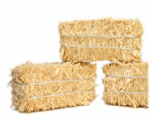 "Hay Bales - Mini Floral - 2"" Long - 3, 6, 12, 24, or 100  Bales! - 101-0802"