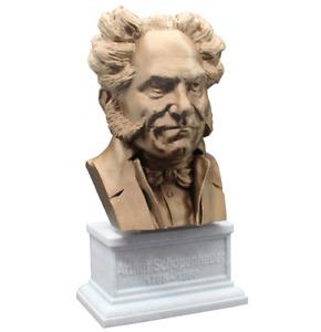 Arthur Schopenhauer 3D Printed Bust German Philosopher Art FREE SHIPPING