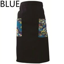 Japanese Chef Cook Apron with Pockets Cotton Kitchen Baking Sushi Restaurant New