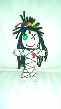 Authentic Good Luck Doll Wanga Voodoo doll herb poppet pins and guide, Karma