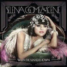 Selena & The Scene Gomez-When The Sun Goes Down-CD NUOVO
