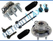 New 10pc Front Wheel Hub & Bearing Suspension Kit for Silverado 1500 Sierra 4x4