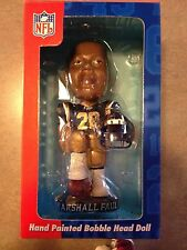 Genuine Hand Painted Bobble Head -- Marshall Faulk of the St Louis Rams