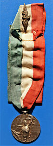 MEDAGLIA PER LA IV GARA GENERALE DI TIRO A SEGNO NAZIONALE ROMA 1902