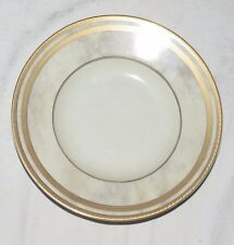 "Oscar de la Renta UH037 Ivory Travertine 9.1/4"" large Rimmed Soup Bowl"