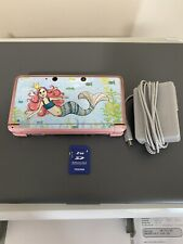 Nintendo 3DS console Mermaid Decal W/ Charger & 2GB SD Card (NO STYLUS)