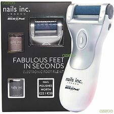 Nails inc. electrónico Herramienta de pedicura Kit - POWERED BY MICRO Pedi con 2
