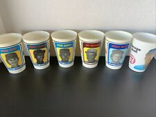 "1970's 7-11 Baseball Slurpee Cups - ""In Action"" 6 Players plus Action cup"