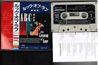 ABC The Lexicon of Love JAPAN CASSETTE TAPE 25PT-193 w/PS+Insert,