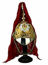 Royal Horse Guards Helmet Shako Prim oficial casco LARP Inglaterra UK l118