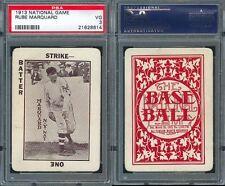 1913 WG5 NATIONAL GAME RUBE MARQUARD PSA 3 (8614)