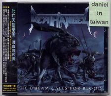Death Angel: The dream calls for blood (2013) CD OBI TAIWAN