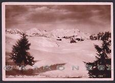 BERGAMO CLUSONE 46 SAN LUCIO - VAL SERIANA - SCI SKI Cartolina FOTOGRAFICA