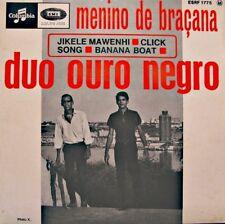 DUO OURO NEGRO menino de braçana/jikele mawenhi/banana boat EP 1966 COLUMBIA VG+
