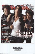 JONAS BROTHERS ~ GOD GIRLS GUITARS 22x34 MUSIC POSTER Nick Kevin Joe RS