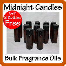 Candle Making BULK FRAGRANCE OILS - Buy 10 of 30ml Bottles and get 2 more FREE