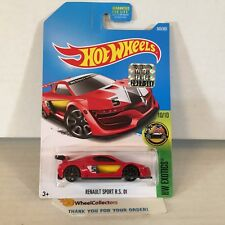 Renault Sport Rs 01 #365 * Red * 2017 Hot Wheels Factory Set Edition * Na17