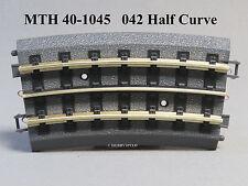 MTH TRACK REAL TRAX 042 HALF CURVE o gauge train 42 INCH RADIUS 40-1045 NEW