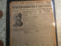Borglum Sculptor Newspaper 1925 STONE MOUNTAIN GA SCULPTOR RETURN FOR TRIAL
