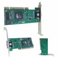 ATI Rage XL 8MB Grafikkarte Grafik Karte VGA PCI 3D Video Card für Windows XP PC
