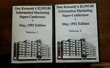 Dan Kennedy $2,995.00 Information Marketing Super Conference May 1992  11 CD Set