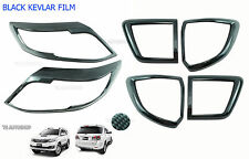 12 13 14 15 For Toyota Fortuner 4x4 Suv Set Head Tail Lamp Light Kevlar Cover