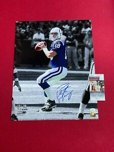 """Peyton Manning, """"Autographed"""" (JSA Authenticated) 16x20 Photo  (Colts)"""