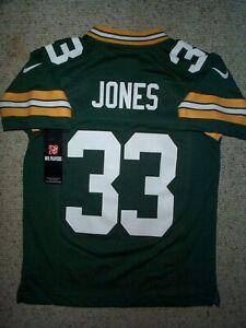 *IRREGULAR* Packers AARON JONES nfl NIKE Jersey YOUTH KIDS BOYS (s-sm-small)