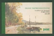 Block G11 Ireland Prestige booklet Fine Art Painting Below face
