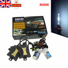 H7 55W 8000K HID Conversation Headlight  Kit Xenon Lamps Slim Ballasts CANBUS UK
