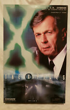 "SIDESHOW X-FILES CGB SPENDER THE CIGARETTE SMOKING MAN 12"" FIGURE...NEW IN BOX"