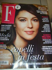 MONICA BELLUCCI NEW F MAGAZINE ITALY DECEMBER 2014 VICTORIA BECKHAM BEN AFFLECK