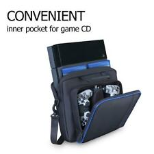 3 Pockets Shoulder Bag Carrying Backpack for PlayStation 4 PS4 Pro Game Console