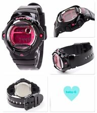 BG-169R-1B Pink Black Digital Casio Baby-G Watches Lady Resin Band Full Packy