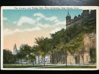 Vintage Postcard>1915-1930>Campus & Phelps Hall>Yale University>New Haven>Conn.