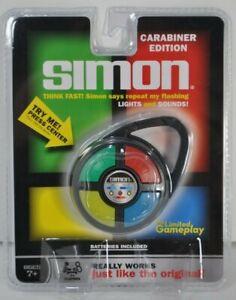 SIMON Carabiner Edition Mini Clip On Travel Electronic Handheld Pocket Game NEW